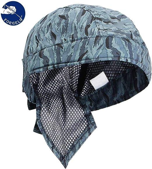 1 Universal Washable Sweat Absorption Elastic Welding Welder Hat Cap Cotton