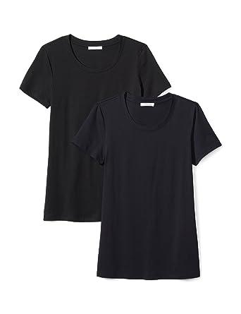 abbaaa38f32a Amazon Brand - Daily Ritual Women's Lightweight 100% Supima Cotton Short-Sleeve  Crew Neck