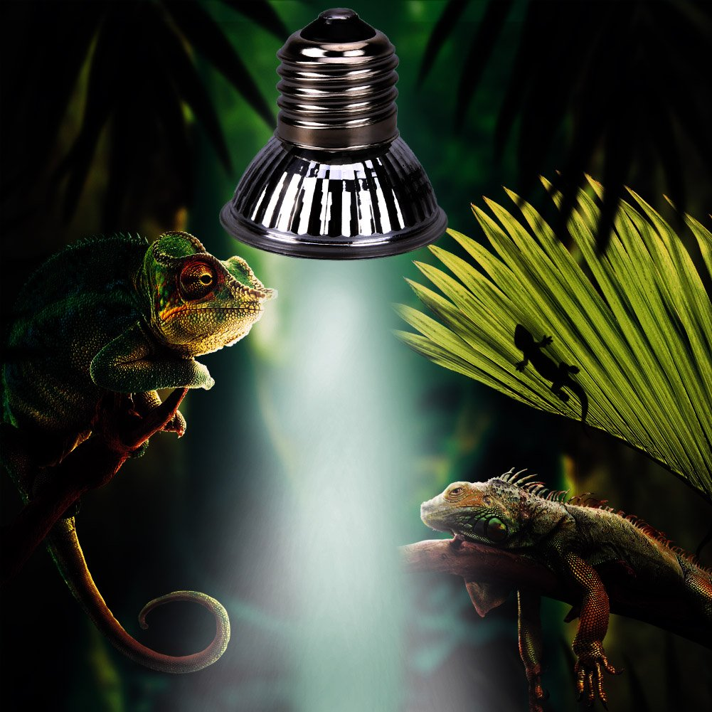 Rrimin Reptile Tortoise UVA UVB 3.0 Heating Lamp