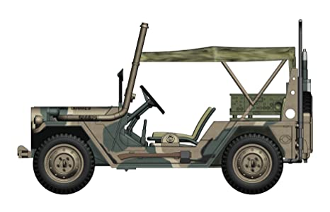M151A2 Ford MUTT 1/48 Die Cast Model, US Marine Corps, Japan,