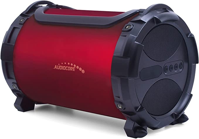 Audiocore Ac880 Bazooka Bluetooth Lautsprecher 150w Fm Radio Mp3 Playermicrosd Akku Tragbar Led Beleuchtung Ipx4 Schutz Baumarkt