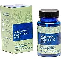 Motherlove More Milk Plus Vegan Capsules (60ct) Herbal Lactation Supplement to Enhance Breast Milk Supply for…
