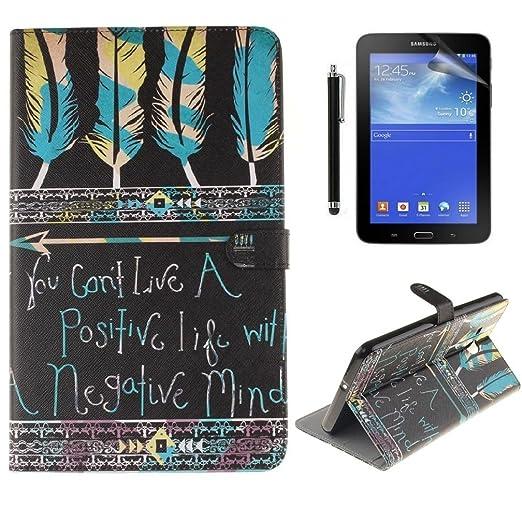 10 opinioni per Ottimo Cover Tablet Samsung Tab A6 7.0,Slim Smart Cover Protettiva Custodia in