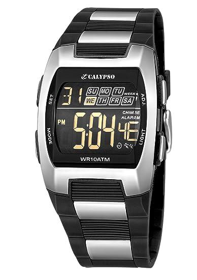 Calypso 5533/1 - Reloj de Caballero de Cuarzo, Correa de Goma Color (