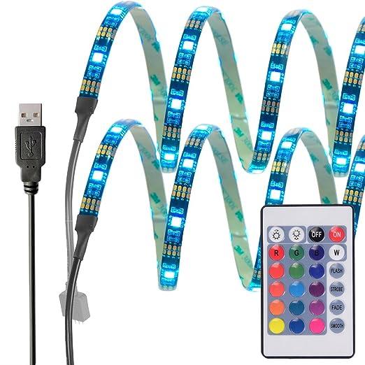 194 opinioni per InnoBeta® 50cm(19.6pollice)X2 Retroilluminazione LED Multicolore DC5V 7.2W