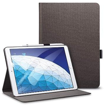 ESR Funda para iPad Air 3ª generación 2019/ iPad 2019, [Soporte para Apple Pencil], Modo de Visualización de Múltiples Angulos, Modo de ...