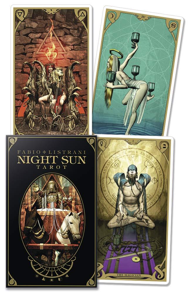 Night Sun Tarot: Listrani, Fabio: 9780738745329: Amazon.com: Books