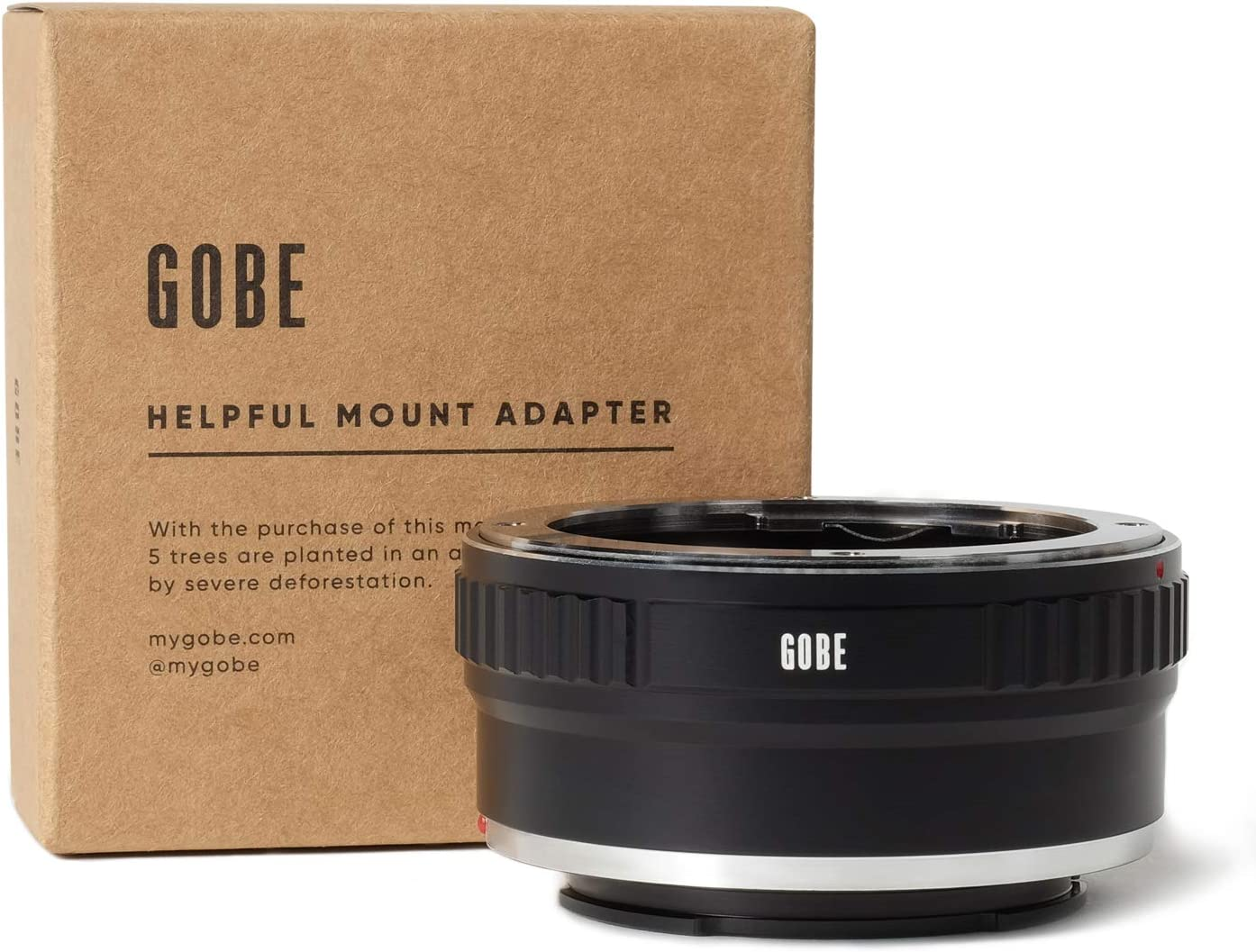 Gobe Lens Mount Adapter: Compatible with Olympus OM Lens and Sony E Camera Body