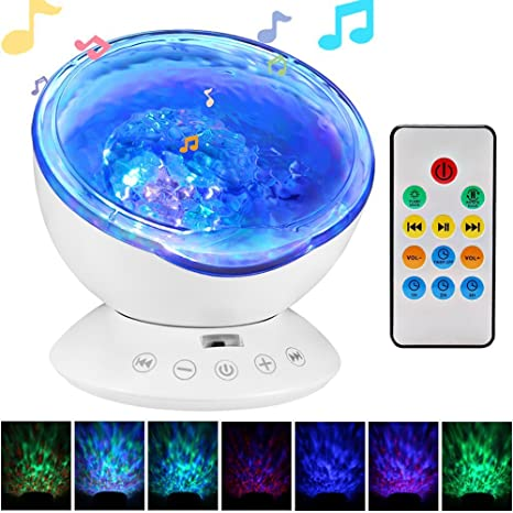 Amazon.com: totobay 12 LEDs Remote Control Ocean Wave ...