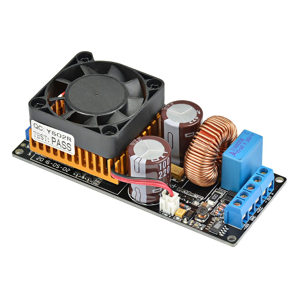 AOSHIKE IRS2092 HIFI Digital Amplifier Board 500W Mono High Power Subwoofer Audio Amplifier Board Super LM3886
