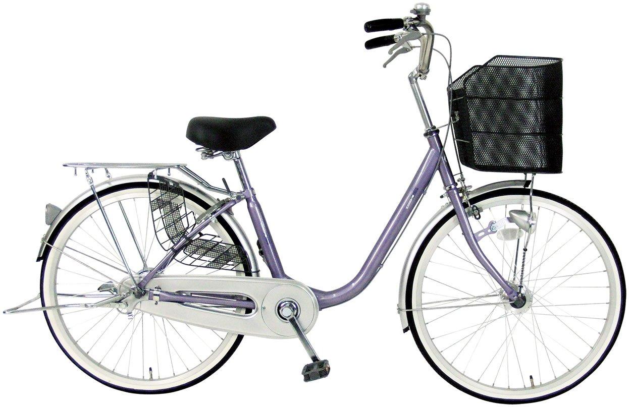 C.Dream(シードリーム) ソナタ SN61-H 26インチ自転車 シティサイクル ラベンダー 100%組立済み発送 B072C6F7CK