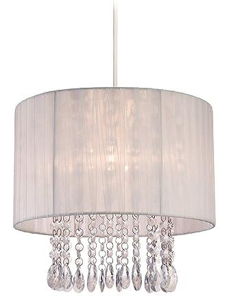Firstlight - Pantalla para lámpara de techo (60 W, pantalla ...
