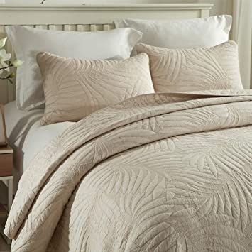 Amazon Com Quilt Set King Cotton World Li Premium 3 Piece
