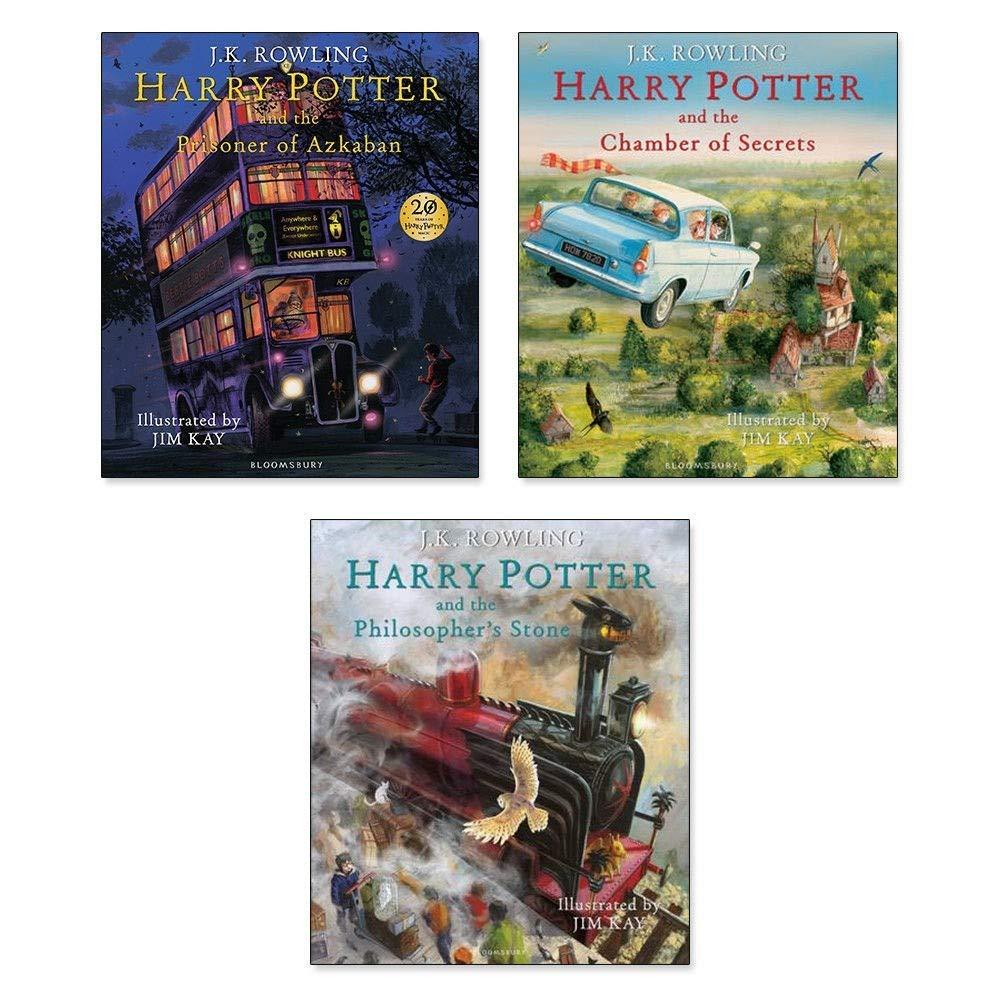 Harry Potter: The Illustrated Collection: Amazon.es: J K Rowling, Jim Kay:  Libros en idiomas extranjeros