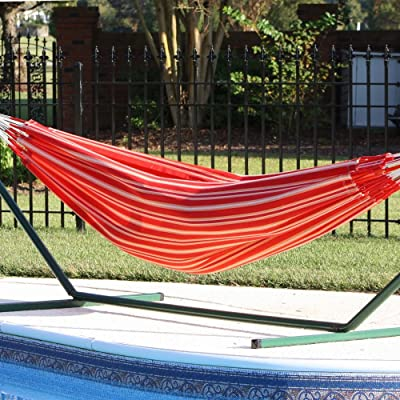 Colombian Single Hammock - Sunset (10 ft 6 in) : Garden & Outdoor