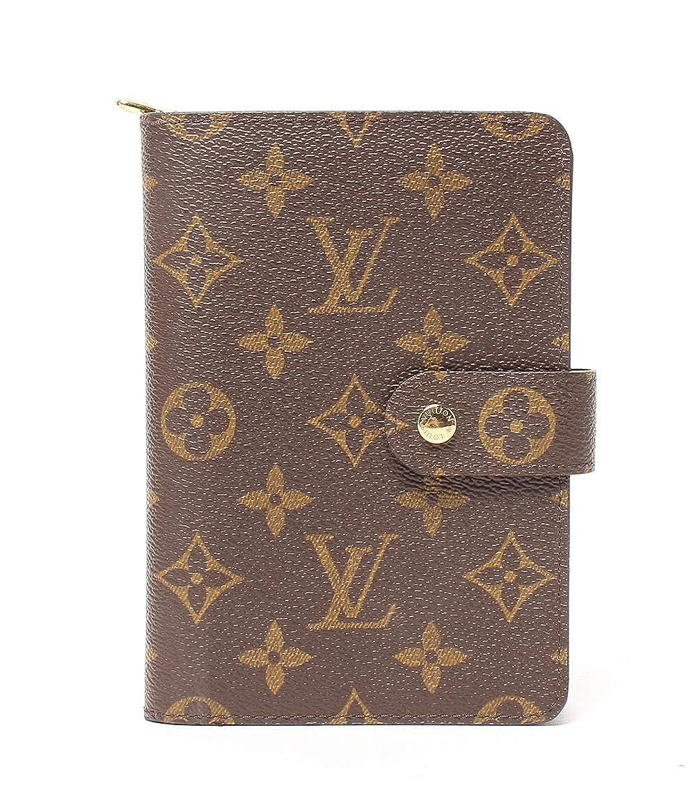 美品 ルイヴィトン 財布 二つ折り ポルトパピエジップ モノグラム M612070 レディース Louis Vuitton 中古 B07S11MQW6