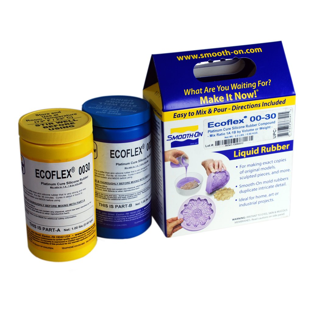 Ecoflex 00-30 Super Soft Platinum Silicone - Trial Unit