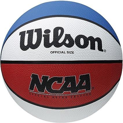 Wilson NCAA Retro balón de baloncesto 7 Tamaño de goma: Amazon.es ...