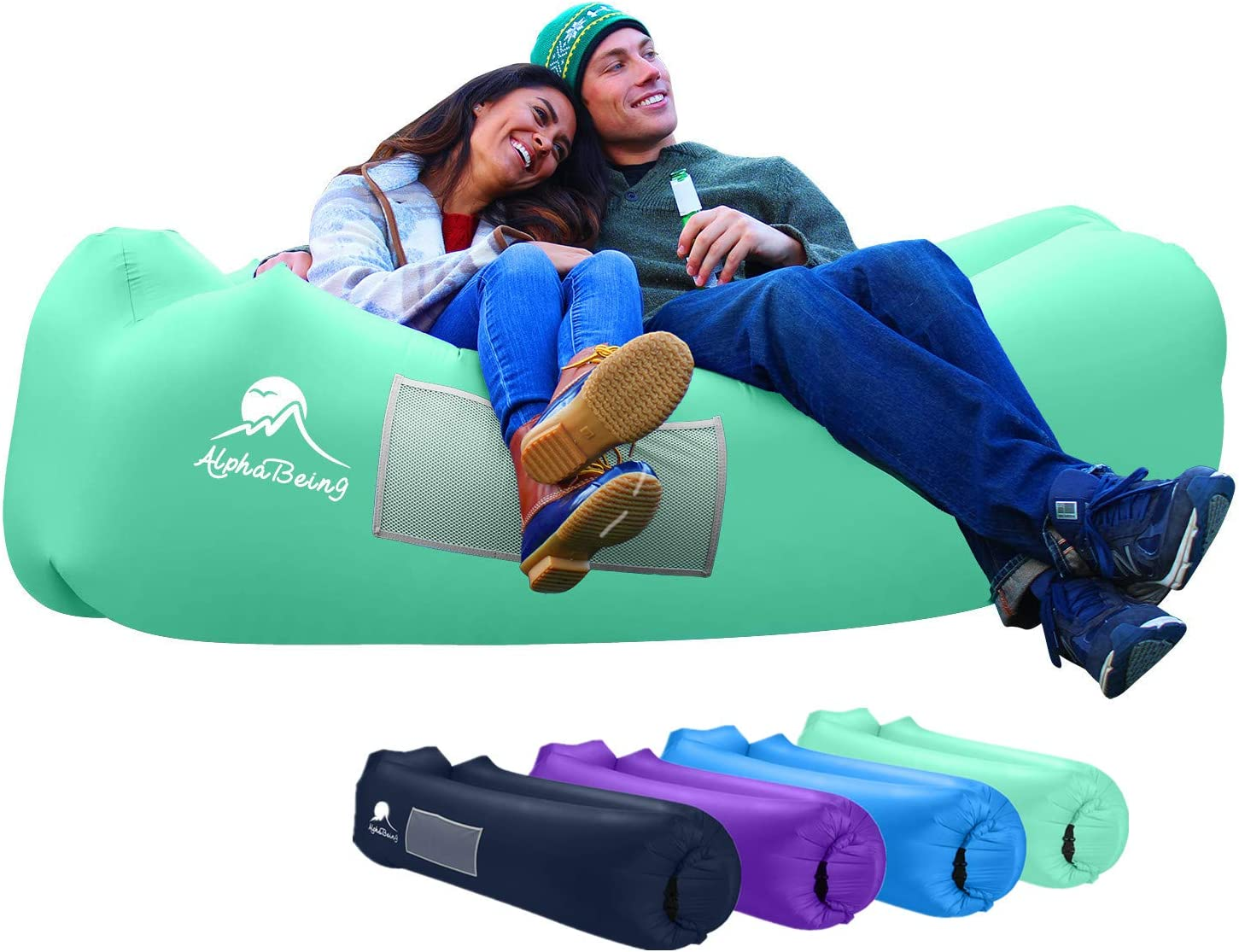 AlphaBeing Inflatable Air Lounger