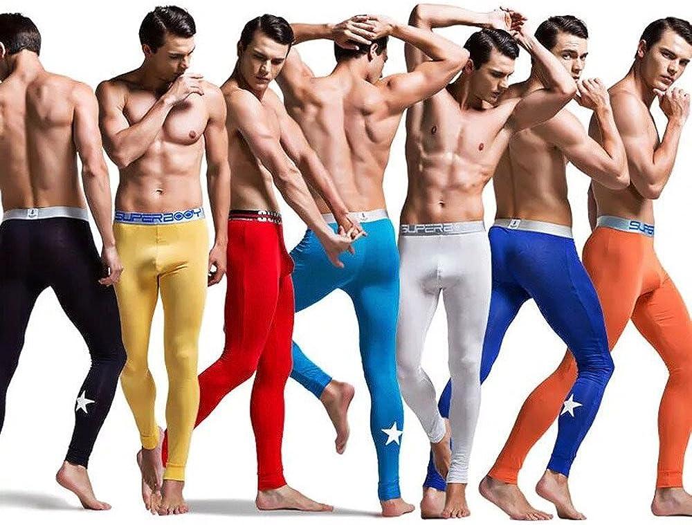 Ykeke 7Pcs//lot Mens Modal Tightly Yaga Sports Joggers Gym Trouses Long Leggings PACK