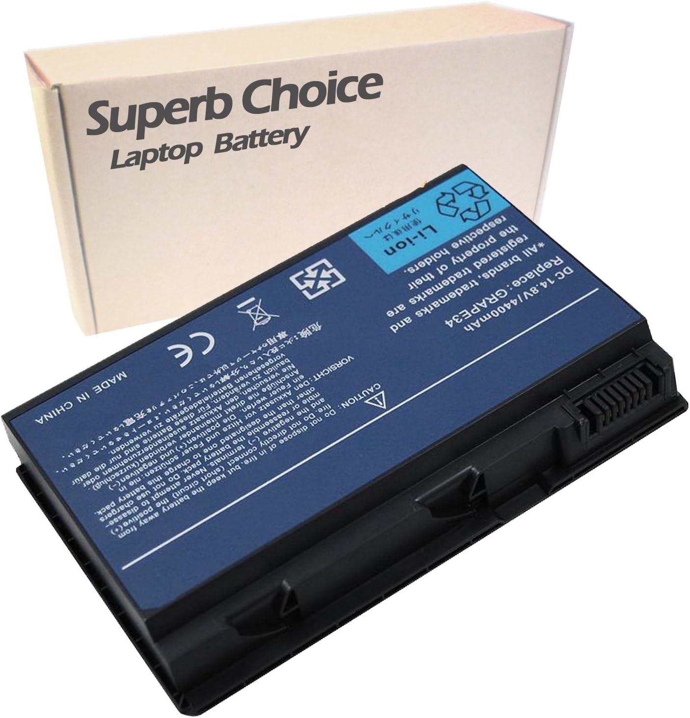 Superb Choice 8-Cell Battery Compatible with ACER Extensa 5210 5230 5230E 5230E-2177