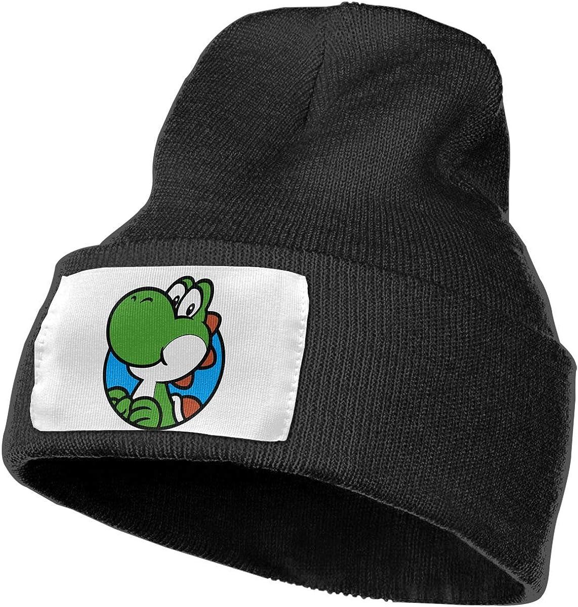 TAOMAP89 Dinosaur Companion Women and Men Skull Caps Winter Warm Stretchy Knit Beanie Hats