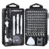 Precision Screwdriver Set, Lifegoo 117 in 1 Magnetic Repair Tool Kit for iPhone Series/Mac/iPad/Tablet/Laptop/Xbox Series/PS3/PS4/Nintendo Switch/Eyeglasses/Watch/Cellphone/PC/Camera/Electronic (Tamaño: 177)