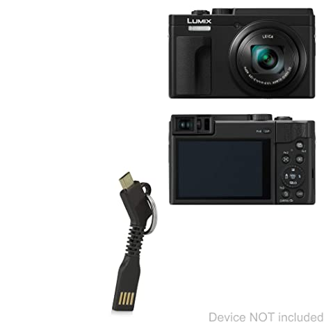 Amazon.com: BoxWave Panasonic Lumix DC-ZS80 Cable [Micro USB ...