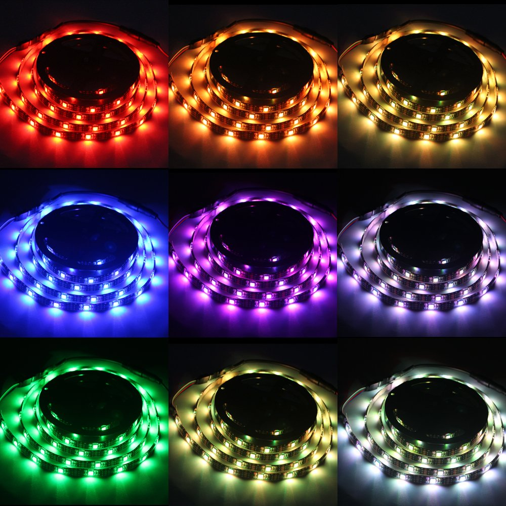 Led strip lights battery poweredabtong rgb led strip rope lights led strip lights battery poweredabtong rgb led strip rope lights waterproof led lights with remote control flexible led strip lighting 2m656ft aloadofball Image collections