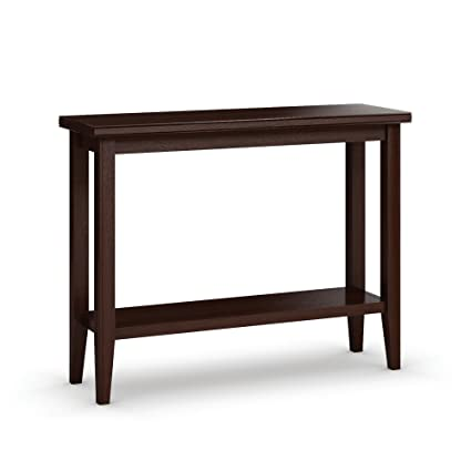 Amazon Com Caravel Bw2319 09 Bowery Sofa Table With Shelf