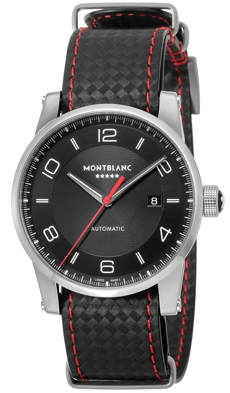[モンブラン]MONTBLANC 腕時計 TimeWalker ブラック文字盤 自動巻き 115361 メンズ 【並行輸入品】 B075DGZ1YQ