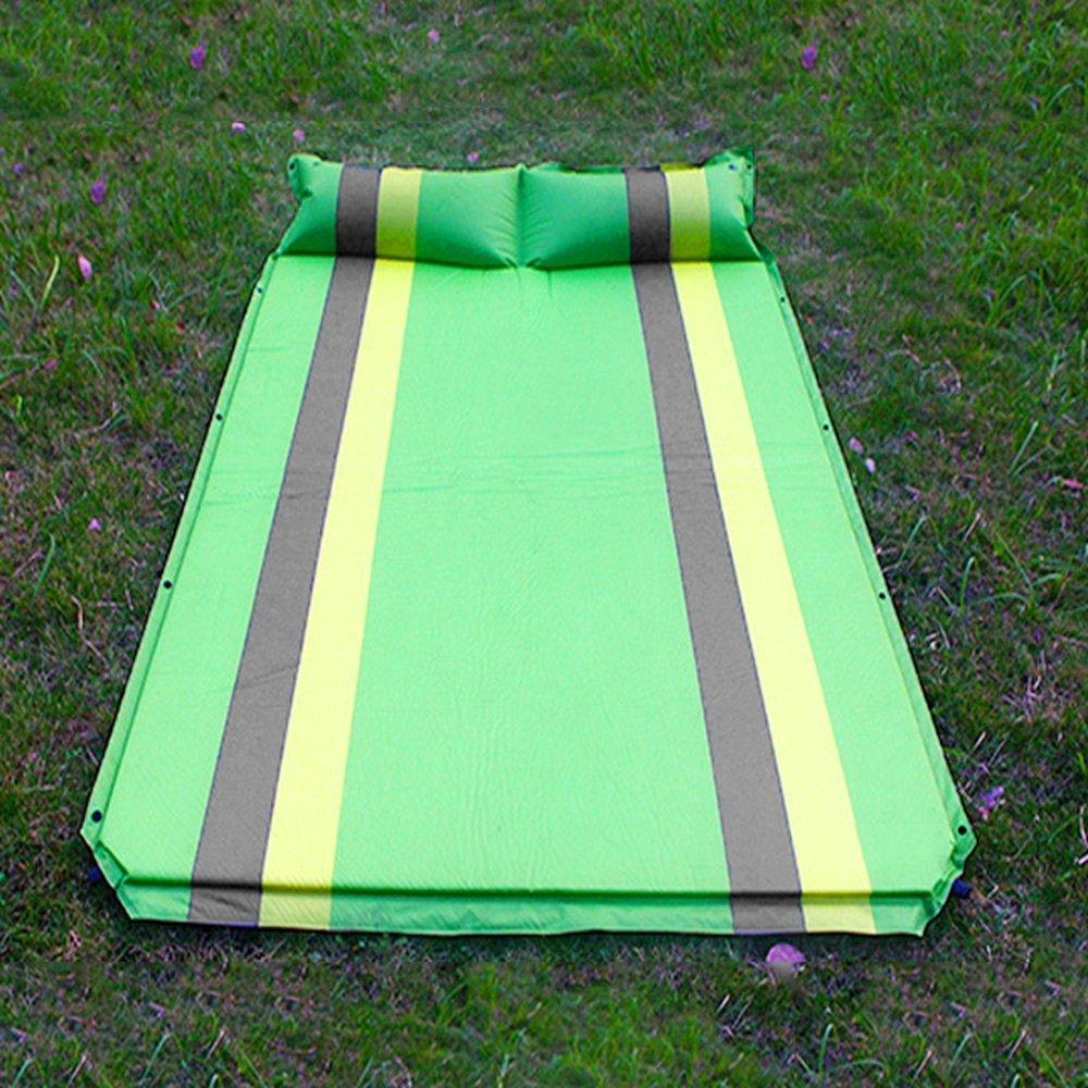 インフレータブルダブルキャンプ用マット大型睡眠マット、屋外、キャンプ、ハイキング190 * 130 * 3cm (色 : 2#)  2# B07PFW1PVK