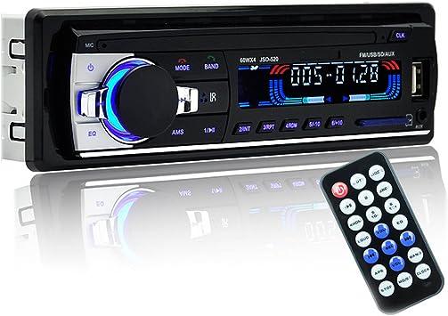Vococal Jsd 520 Auto 12v Bluetooth Car Stereo Ukw Elektronik