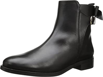 Vaneli Women's Genius Black Mike Calf/Gold Trim Boot 7 N ...