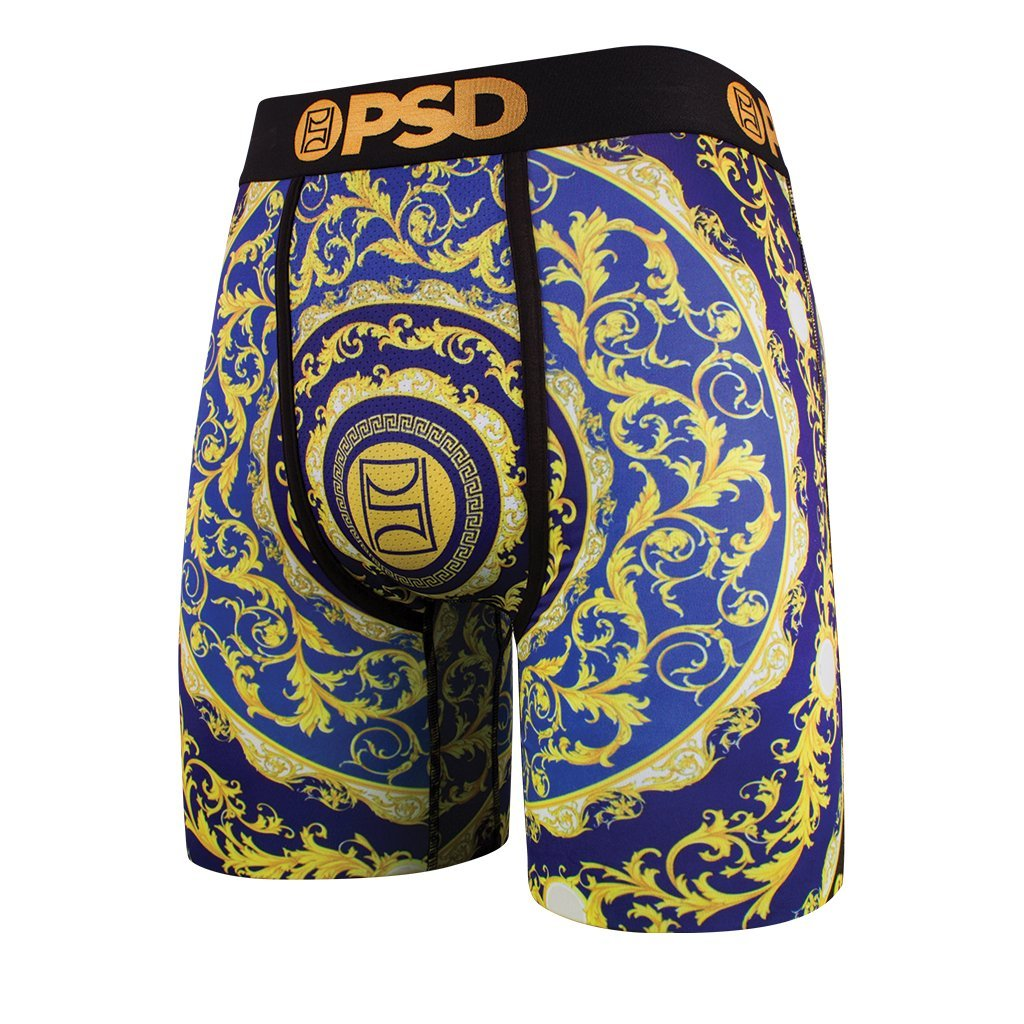 Red /& Gold Athletic Boxer Brief PSD Mens Kyrie Irving Signature Line Green Black