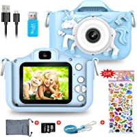 Kids Digital Camera,1080P 2 Inch Children Digital Camera Video Recorder Best Birthday Girls Boys, 32GB TF Card Included…