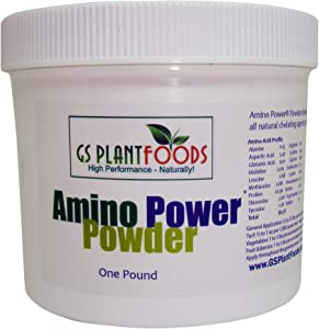 Amino Power Powder, All Natural nitrogen Source and chelating Agent 14-0-0 Amino Acid Powder.