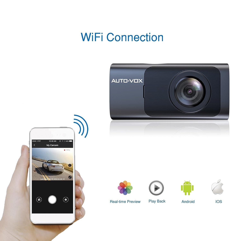 Auto vox d7 wifi dash cam dash camera with gps fhd 1080p night vision car dashboard camera driving recorder with 165 wide angle g sensor amazon ca