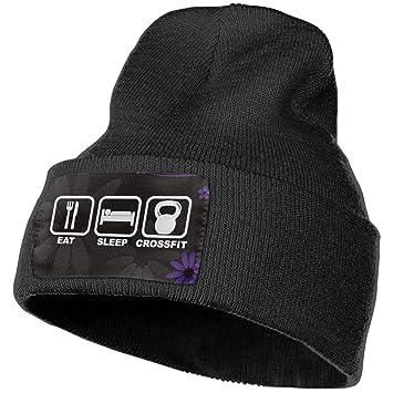 CVDGSAD Eat Sleep Crossfit Beanie Hat Gorro elástico para Mujer ...