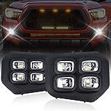 LED Tacoma Fog Lights Compatible with Toyota Tacoma 2016 2017 2018 2019 2020 DRL Fog Light for Tacoma Assembly LED Driving Fo
