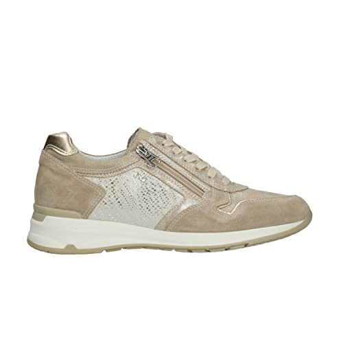 NERO GIARDINI Sneakers scarpe donna ivory 5054 mod. P805054D