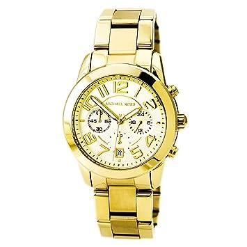 Michael Kors MK5726 Damen Chronograph Gold Ton: