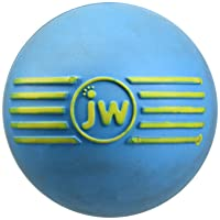 Deals on JW Pet Company iSqueak Ball Rubber Dog Toy Small