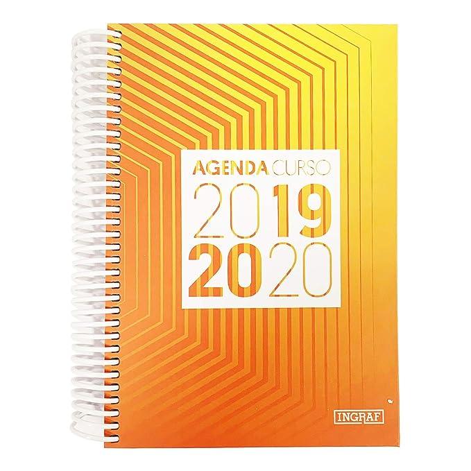 Agenda Escolar con Diseño de Onda de radiación 2019 2020 ...