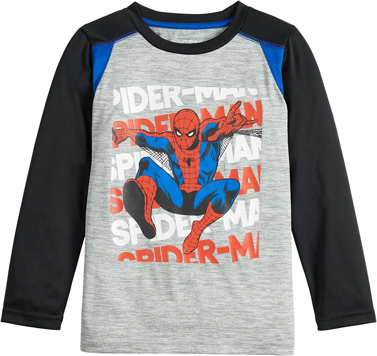 Jumping Beans Boys 4-12 Spider-Man Speed Active Graphic Tee