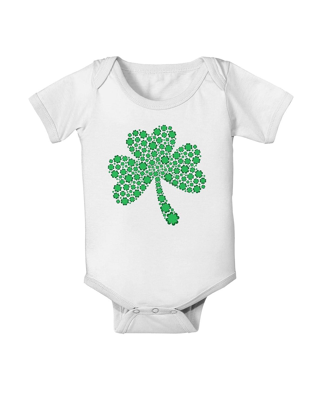 Patricks Day Shamrock Design Shamrocks Baby Romper Bodysuit TooLoud St