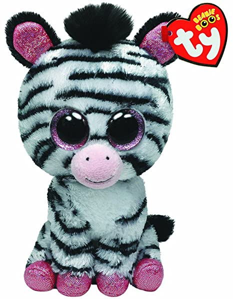 2ef98817216 Image Unavailable. Image not available for. Color  Ty Beanie Boos Izzy -  Zebra (Justice Exclusive)