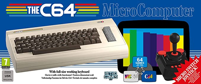 The C64 (Electronic Games): Amazon co uk: PC & Video Games