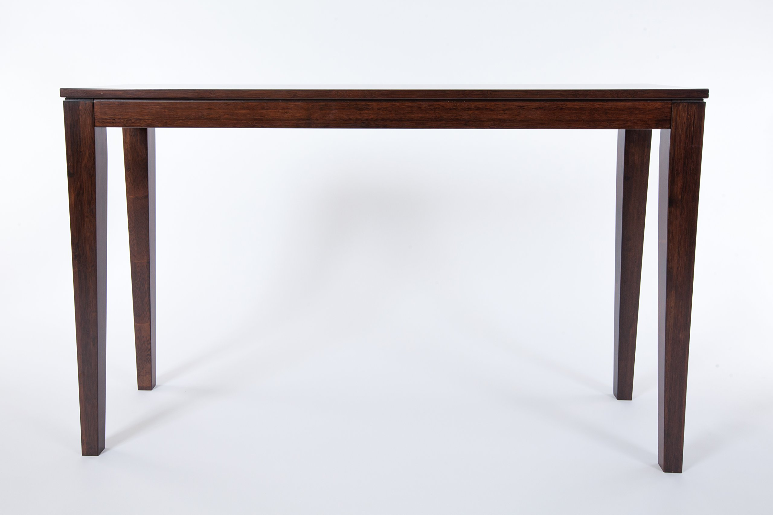 Bamboogle Interiors 10-1448J Brazil Collection Modern Bamboo Console Table in Rich Java Espresso Finish by Bamboogle