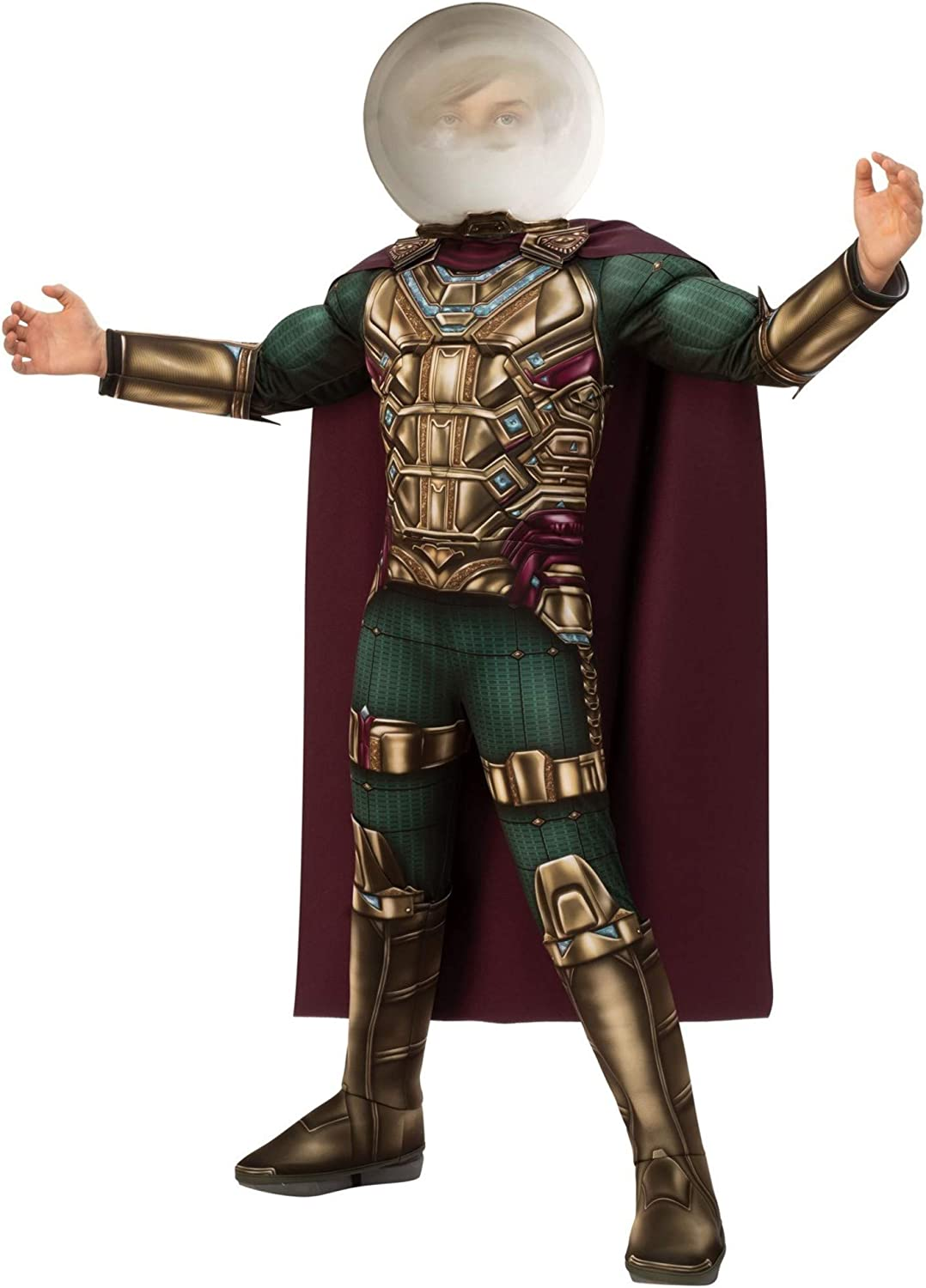 Spider-Man Far from Home: Kids Mysterio Deluxe Costume